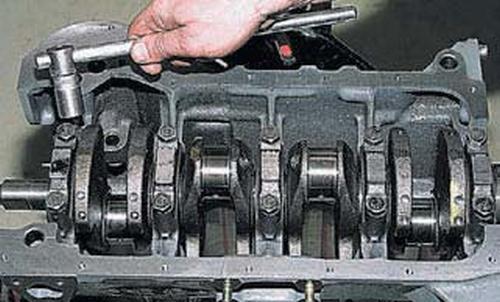 Разборка и сборка двигателя Шевроле Нива