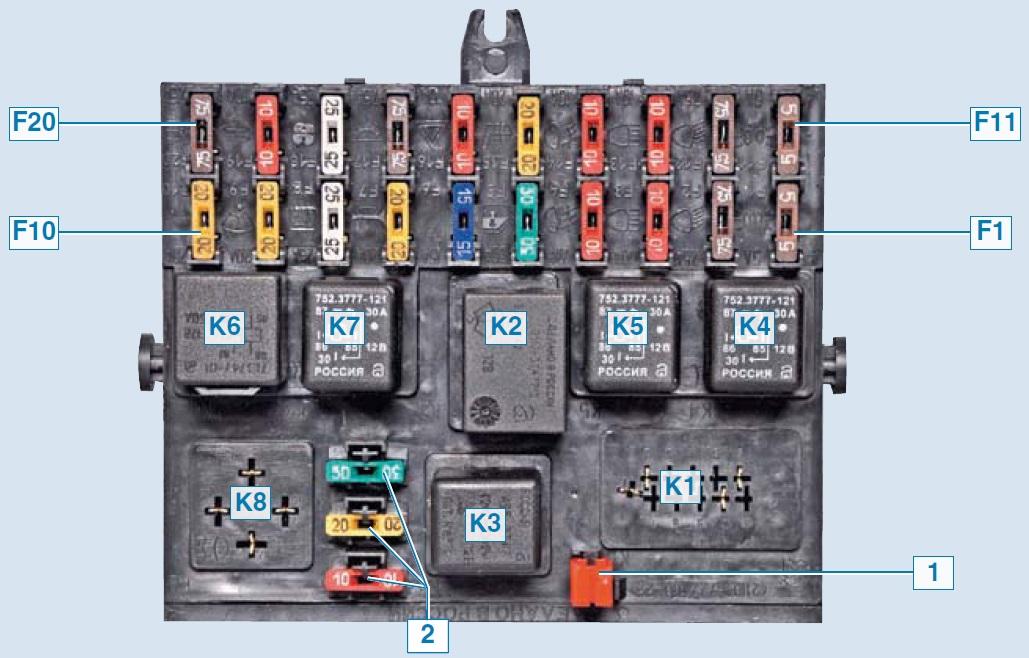 Электрооборудование Шевроле Нива