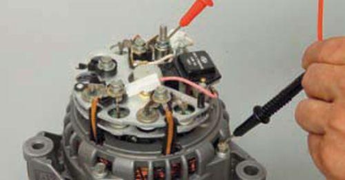 Проверка генератора Шевроле Нива